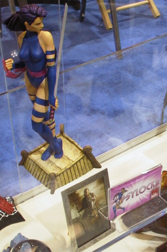 There was also a nice Psylocke